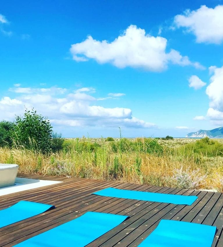 Yoga Bliss Troia Beach Club