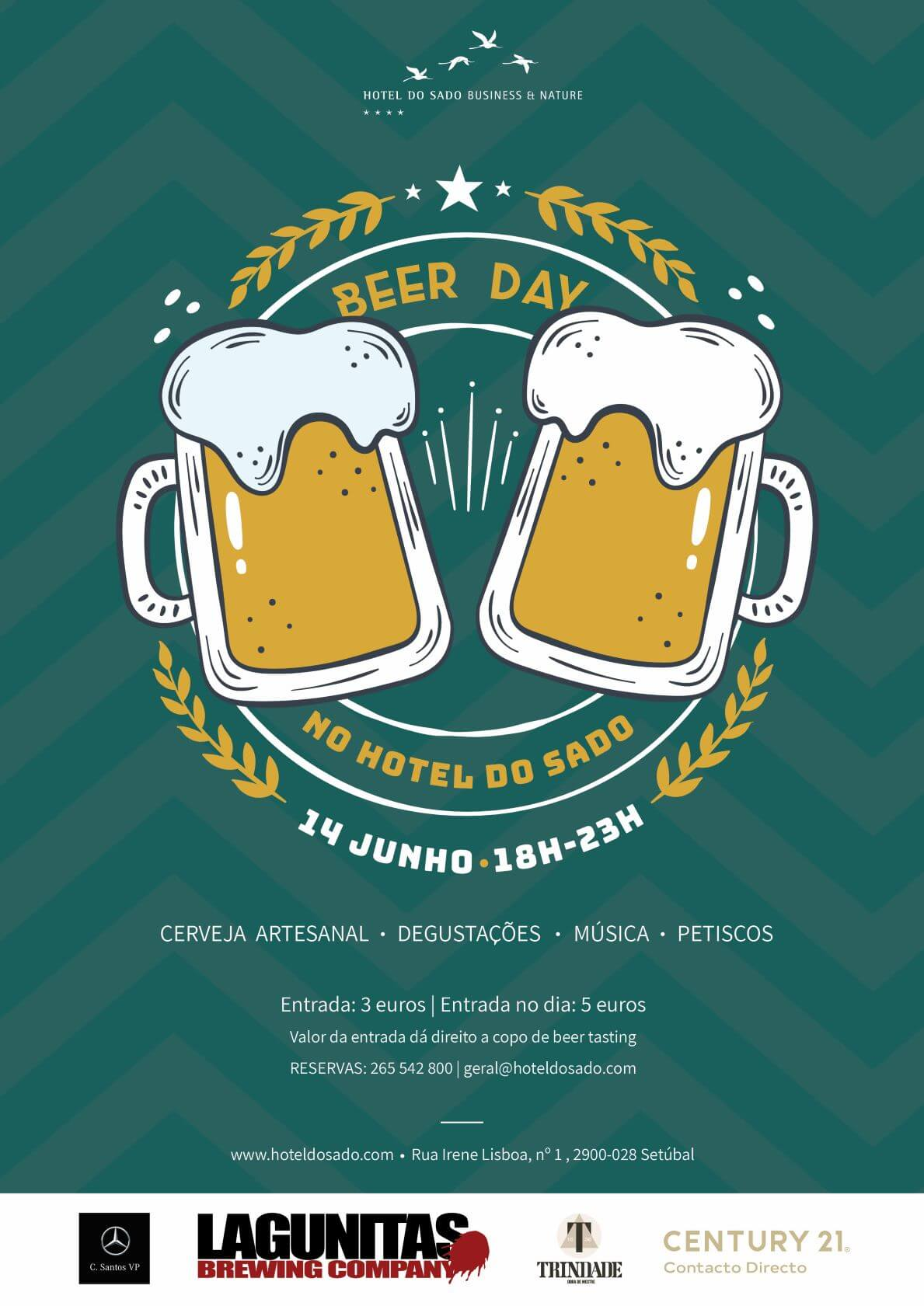 Beer Day Setubal Cartaz