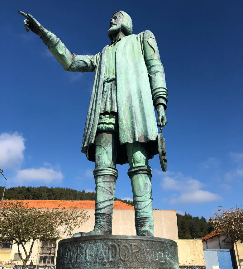 Estatua Vasco da Gama Setubal