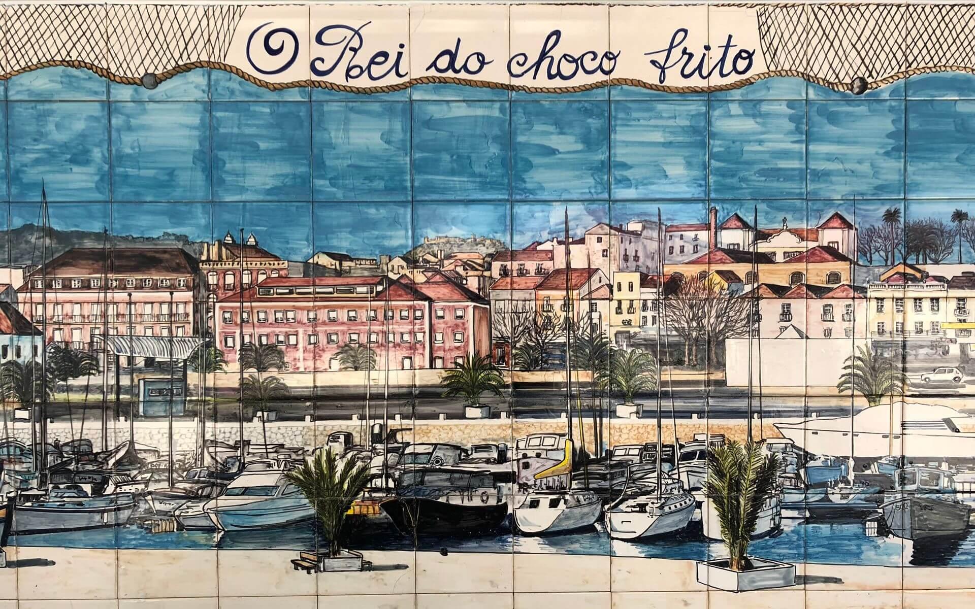 O Rei do Choco Frito - Casa Santiago - Azulejos
