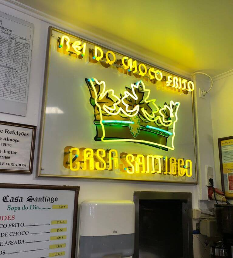 Setubal - Casa Santiago - Rei do Choco Frito -